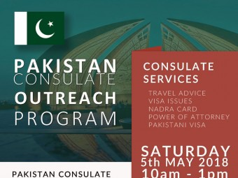 <small>Pakistan Consulate Outreach program</small>