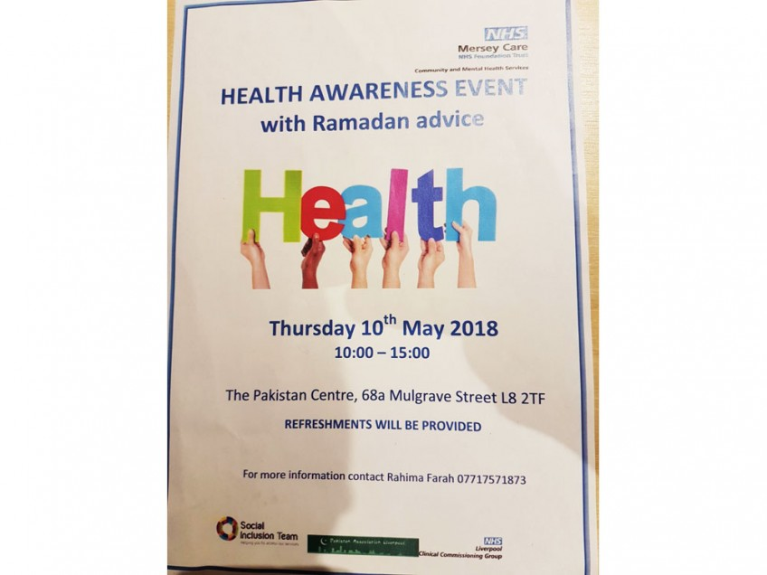 <small>Health Awareness Event</small>