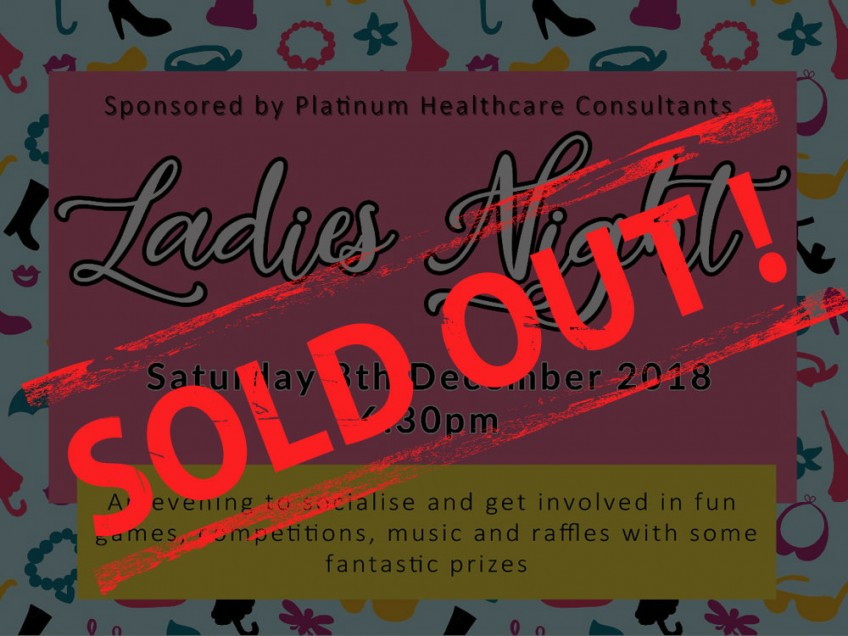 Ladies Night – Sold Out!