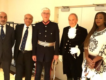<small>Visit by Lord Lieutenant & High Sheriff</small>