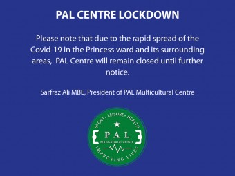 PAL Centre Lockdown