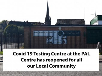 <small>Covid 19 – Testing Centre at PAL</small>